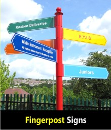 Fingerpost Directional Signs