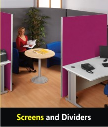 Office Dividers & Screens