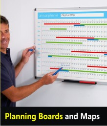 Wall Planners and Maps