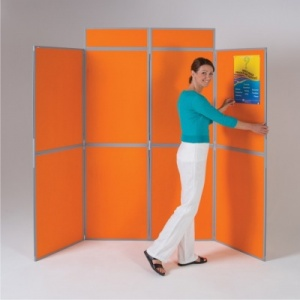 BusyFold Light - 8 Panel Folding Display System