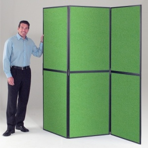 XL BusyFold Light - 6 Panel Folding Display System