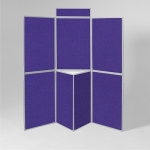 BusyFold Light - 7 Panel Folding Display System