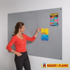 Resist-A-Flame Fire Retardant Unframed Notice Boards