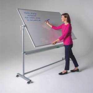 WriteOn Laminate Mobile Revolving Whiteboards