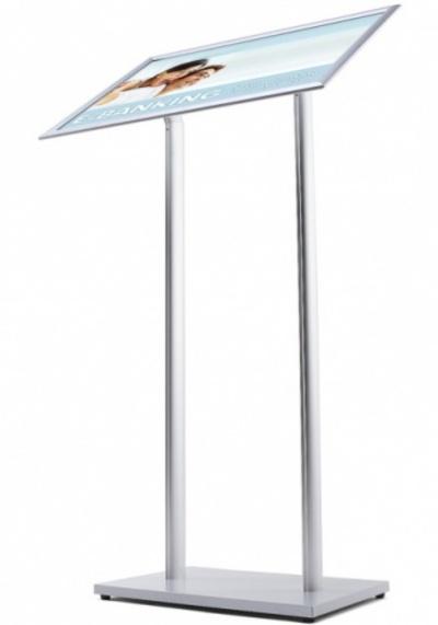 a2 freestanding snap frame angled menu holder signs 4 schools