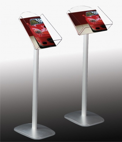 A400 Freestanding Brochure Display Stands Signs 400 Schools Gorgeous Free Standing Signs Displays