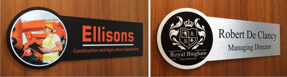 Crest Office Door Signs
