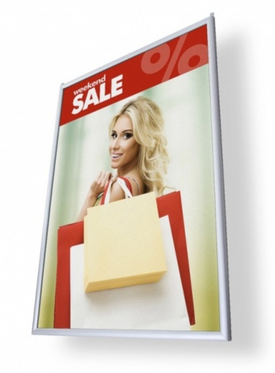 hanging poster frames tweet double sided poster hanging frames double ...