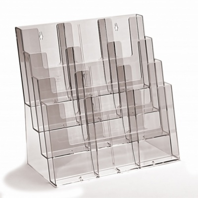 DL A4000 And A400 Multi Pocket Leaflet Holder Signs 400 Schools Beauteous A5 Leaflet Display Stands