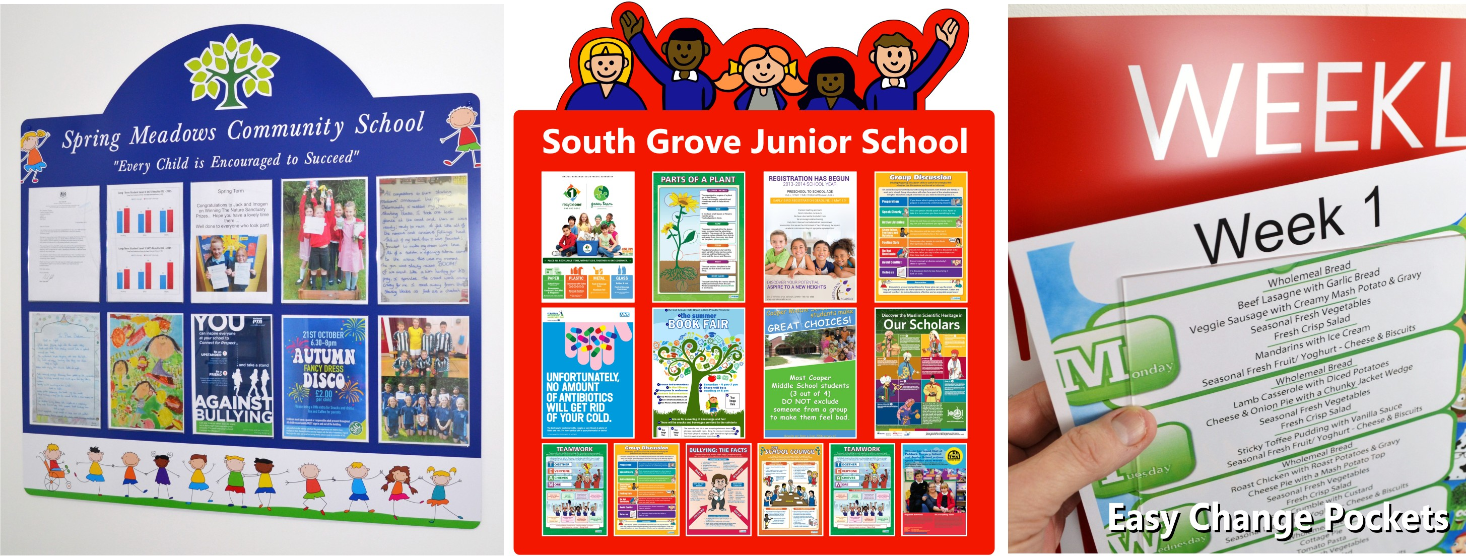 The School Wall Presentation and Display Panel