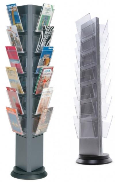Torre Premium Rotating Brochure Stand Signs 4 Schools