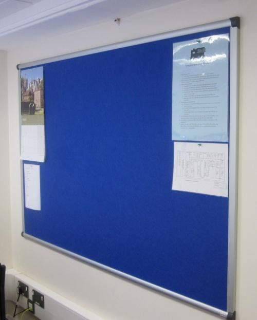 Vision Aluminium Framed Notice Board - Signs 4 Schools