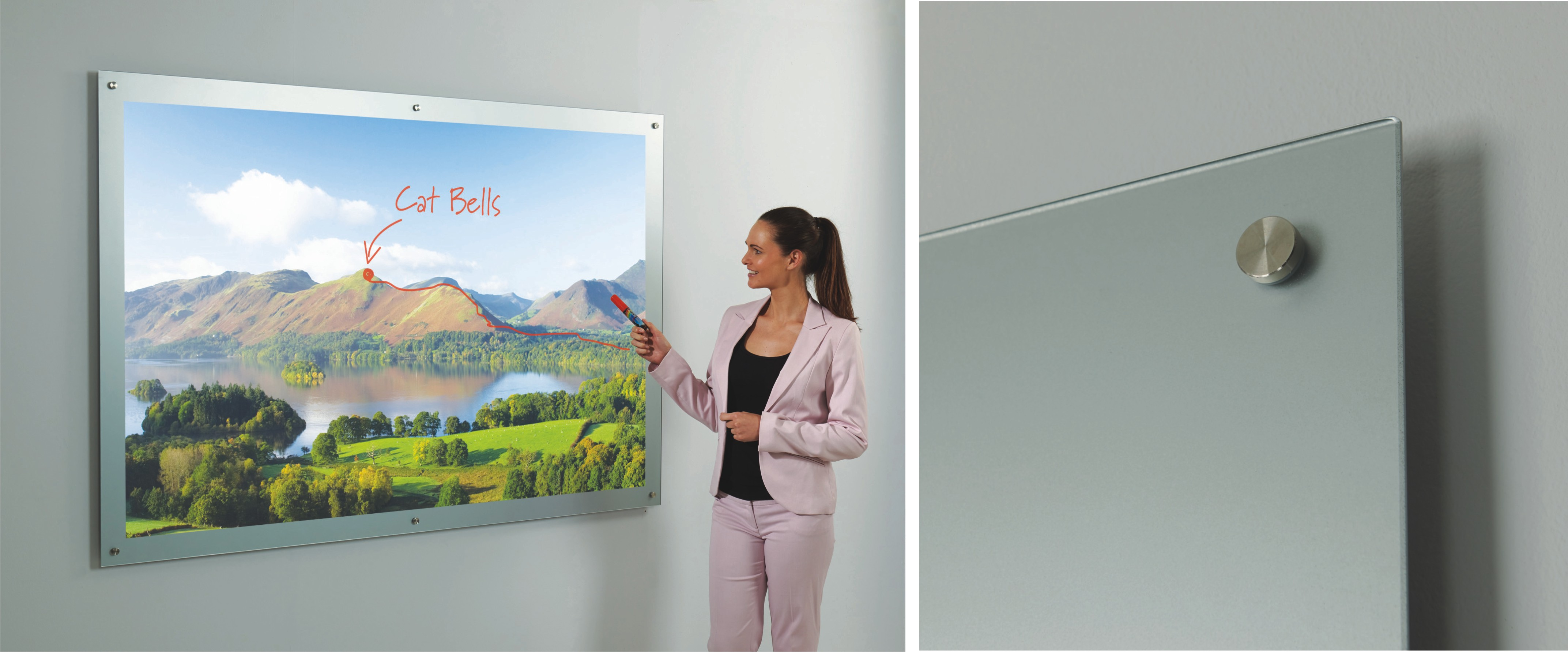 Glass Projection Boards