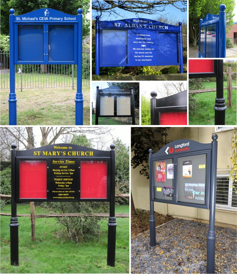Premium External School Notice Boards