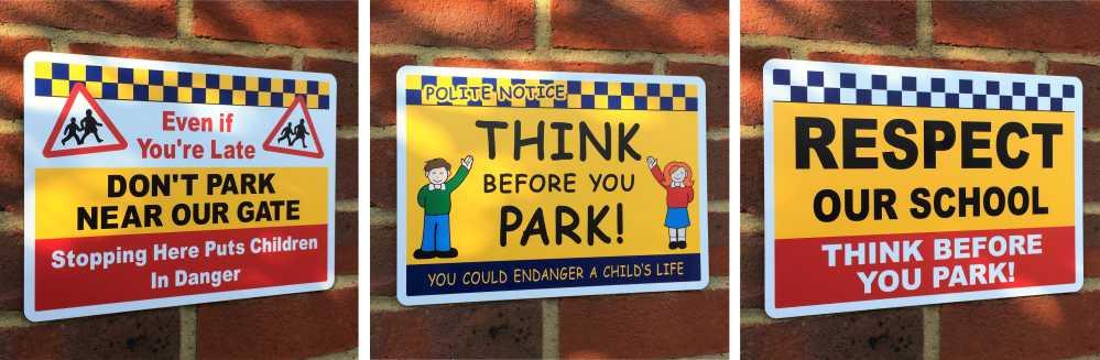School No Parking Safety Signs Signs 4 Schools