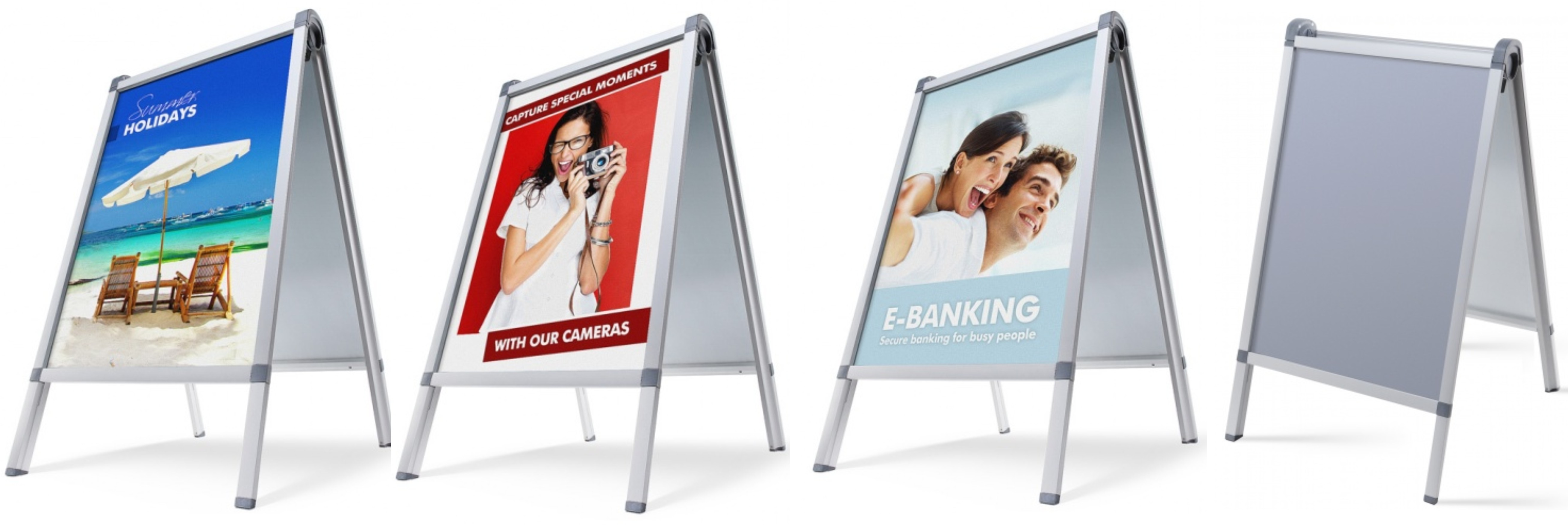 A board poster design - A1 Size Premium Pavement Sign Poster Holder