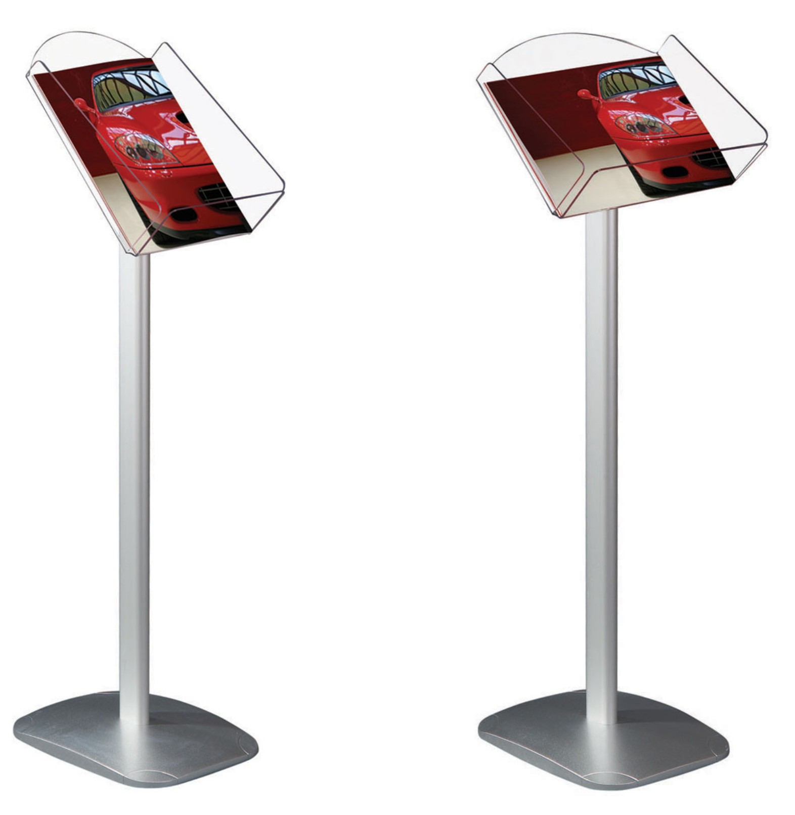 A4 Freestanding Brochure Display Stands