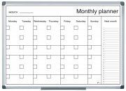 drywipe magnetic monthly planning board