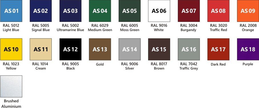 school sign colours available