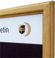 Premium Oak Framed Felt Noticeboard