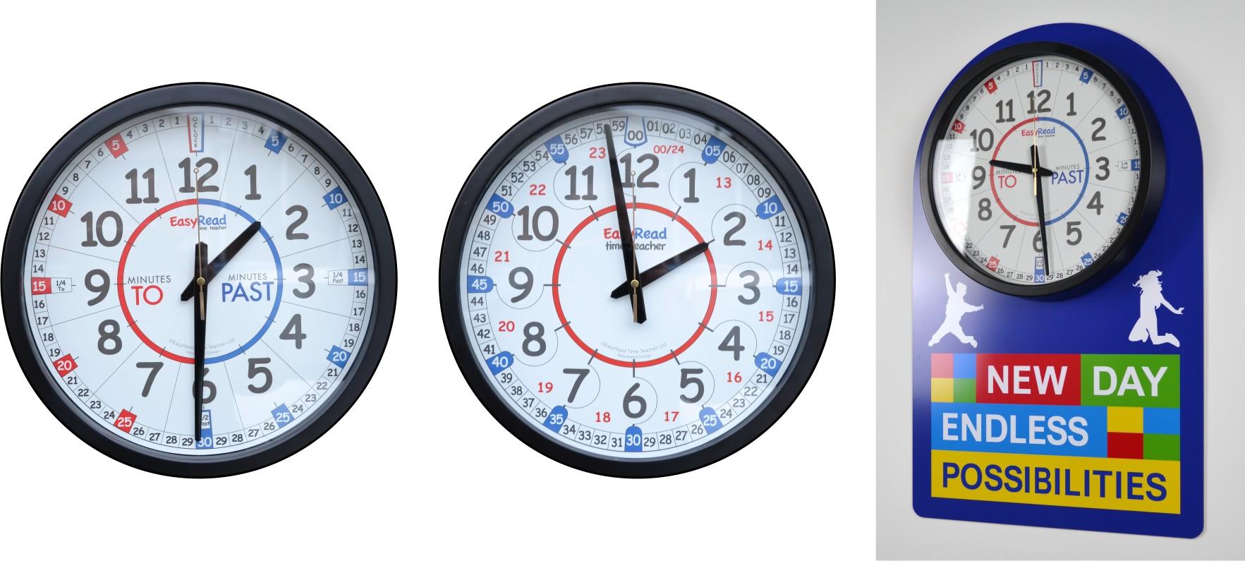 School Clocks - Signs 4 Schools