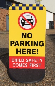 Child Friendly Pavement Safety Signs