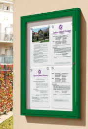 The Tradition Wall Mounted External Notice Board
