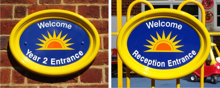 GRP Fibreglass School Signs