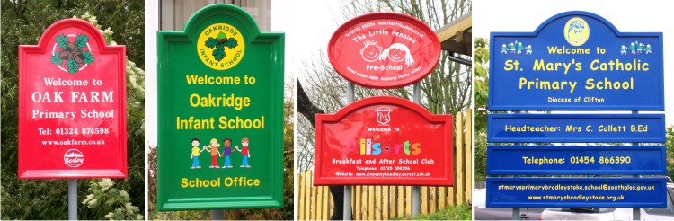 grp school signs