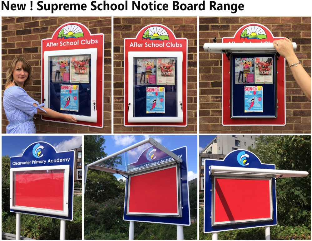 Supreme School Notice Boards