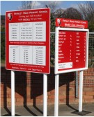 Stanley Road Primary School Sign