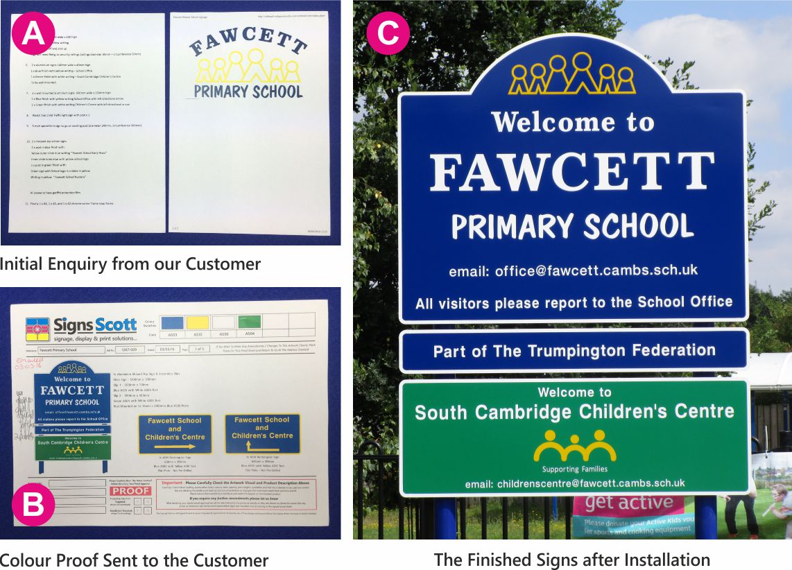 Signs4Schools artwork guide