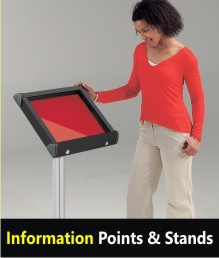 Info Points & Menu Stands