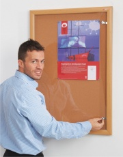 Wooden Lockable Notice Boards