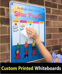 Printed School Whiteboards