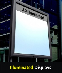 Light Box Poster Displays