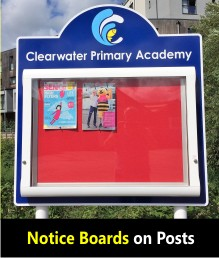 School Notice Boards (Post)