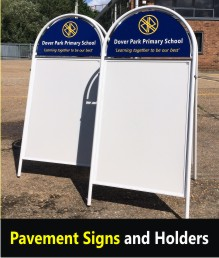 A Boards & Pavement Signs