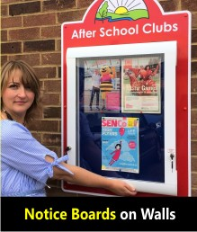 School Notice Boards (Wall)