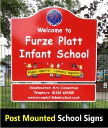 Signs for Schools - Post