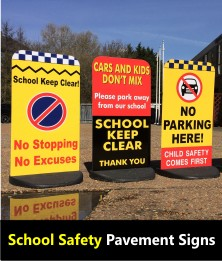 School Safety Pavement Signs