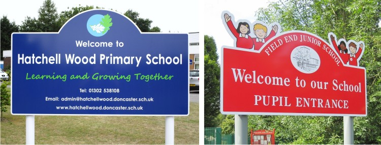 Asigns for schools - signs for schools