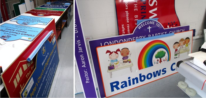 signs for schools