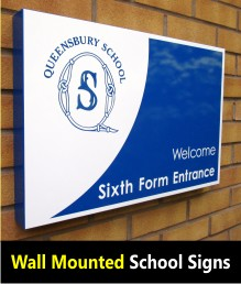Signs for Schools - Wall