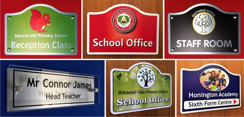 Office and Classroom Door Signs