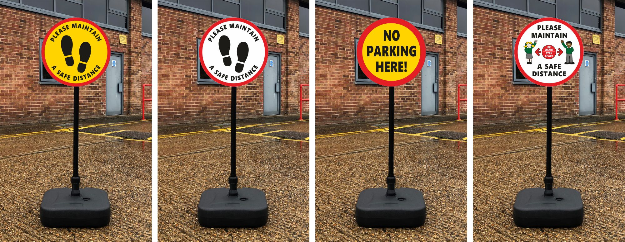 lollipop signs for schools