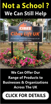 signs for churches and orange displays