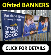 Printed Ofsted Banners