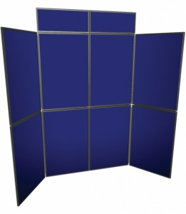 8 Panel Freestanding Display System