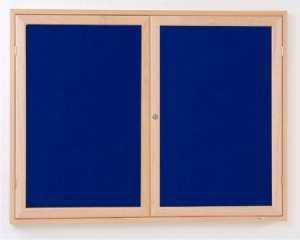 Eco Friendly Wood Frame Beech Notice Board